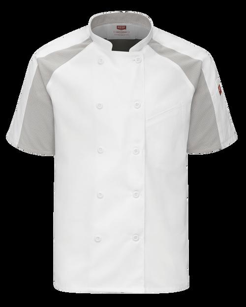 Men's Airflow Raglan Chef Coat with OilBlok