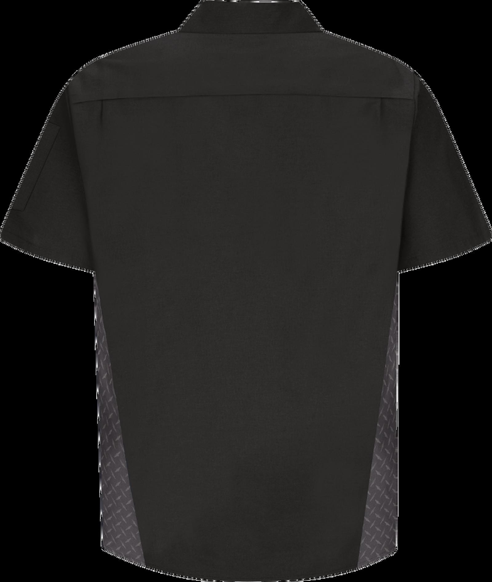 Men's Short Sleeve Diamond Plate Shop Shirt