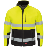 Men's Hi-Visibility Soft Shell Jacket