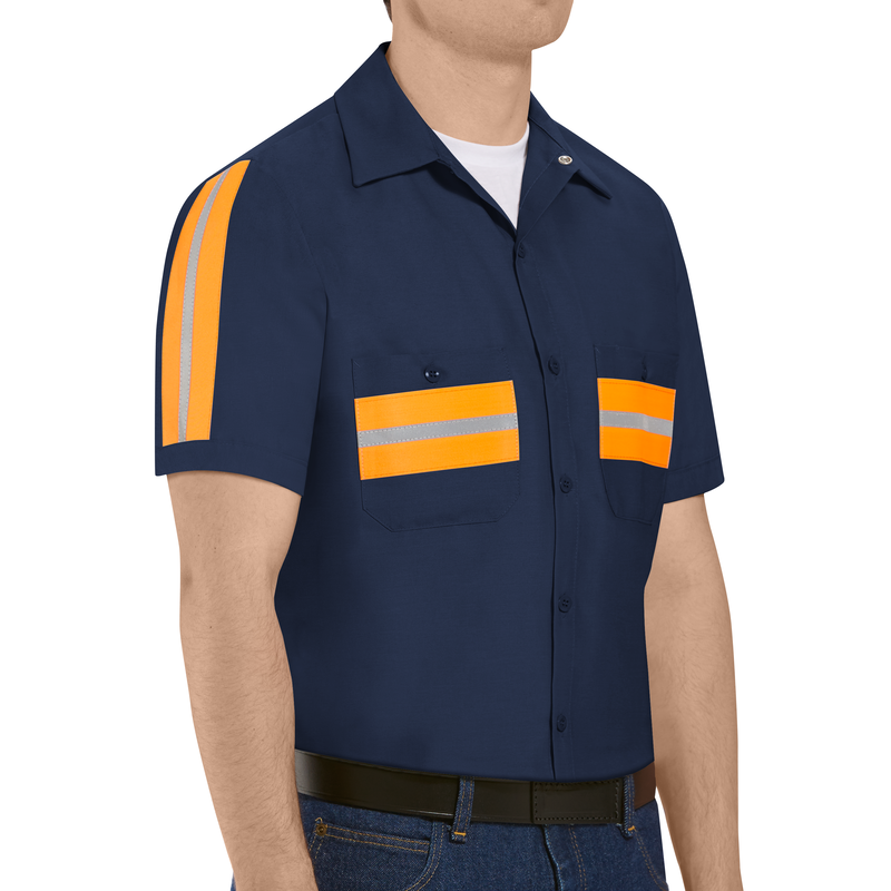 Short Sleeve Enhanced Visibility Shirt