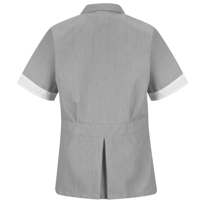 Women's Double-Breasted Lapel Tunic