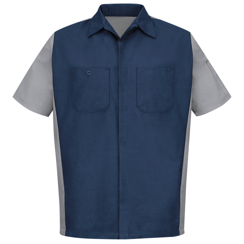 Men's Short Sleeve Two-Tone Crew Shirt
