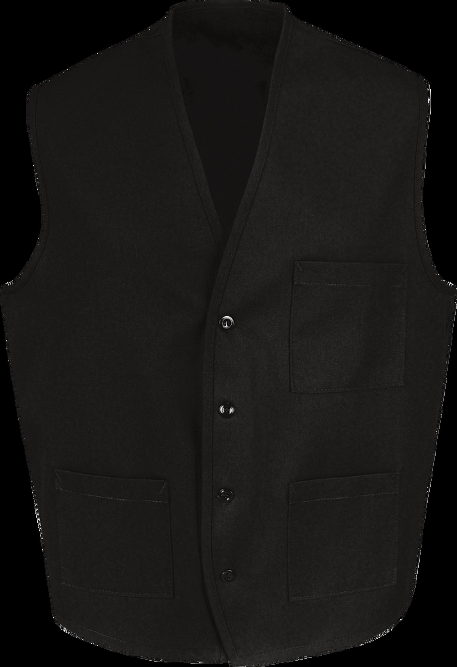 Chef Designs Button Front Vest