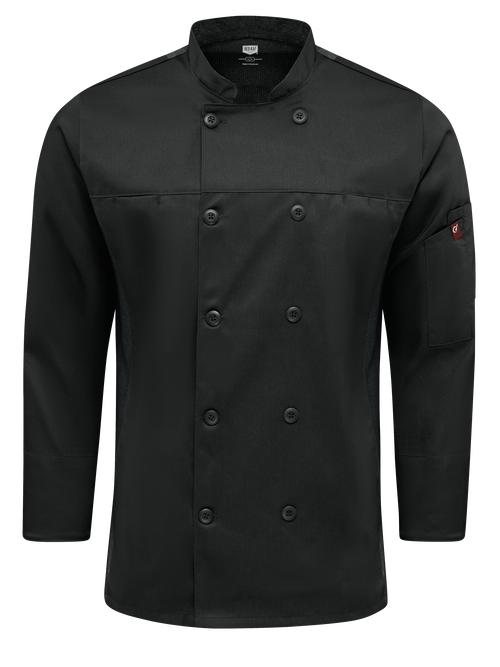 Men's Deluxe Airflow Chef Coat