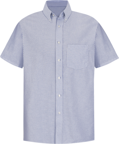 Men's Short Sleeve Executive Oxford Dress Shirt
