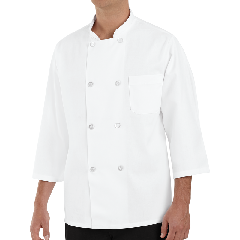 Chef Designs ¾ Sleeve Chef Coat