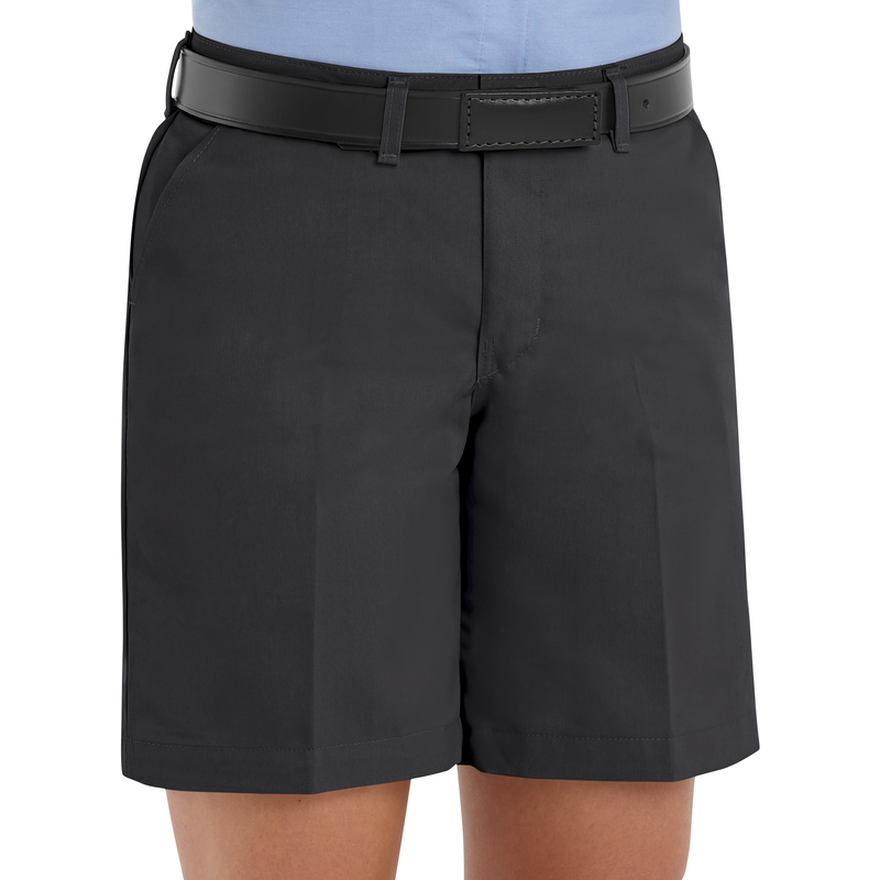 Women's Plain Front Shorts