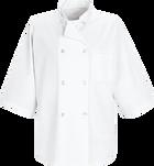 Chef Designs ½ Sleeve Chef Coat
