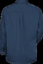 Men's Long Sleeve Cotton Contrast Dress Shirt
