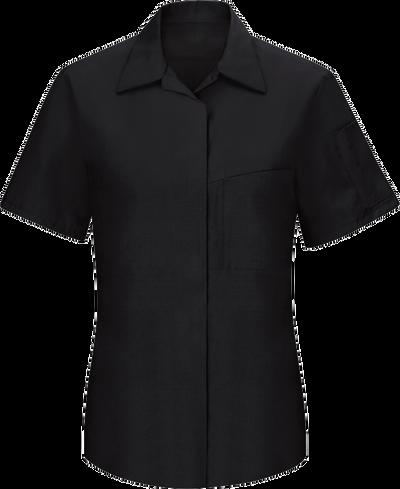 Women's Short Sleeve Performance Plus Shop Shirt with OilBlok Technology