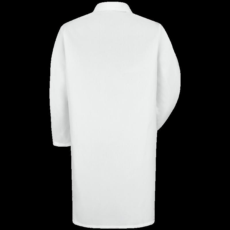 Men's Button-Fron Lab Coat