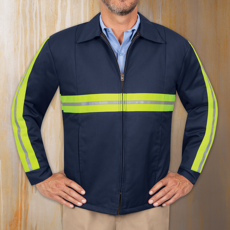 Men's Enhanced Visibility Perma-Lined Panel Jacket