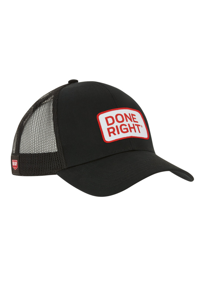 Done Right Trucker Hat