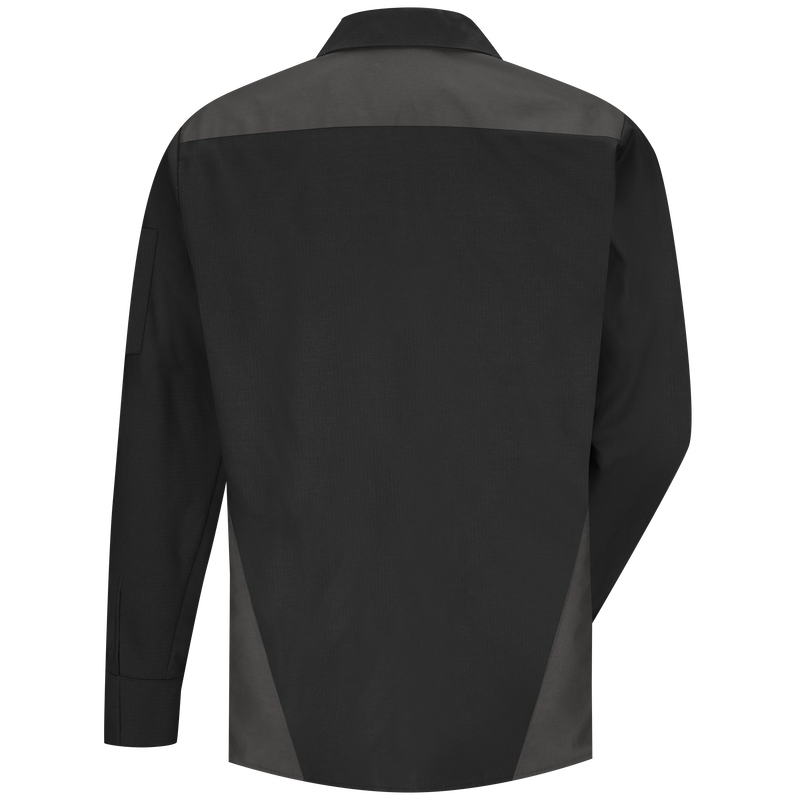 Men's Long Sleeve Tri-Color Shop Shirt