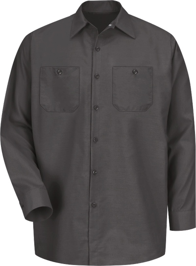 Men's Long Sleeve Industrial Work Shirt