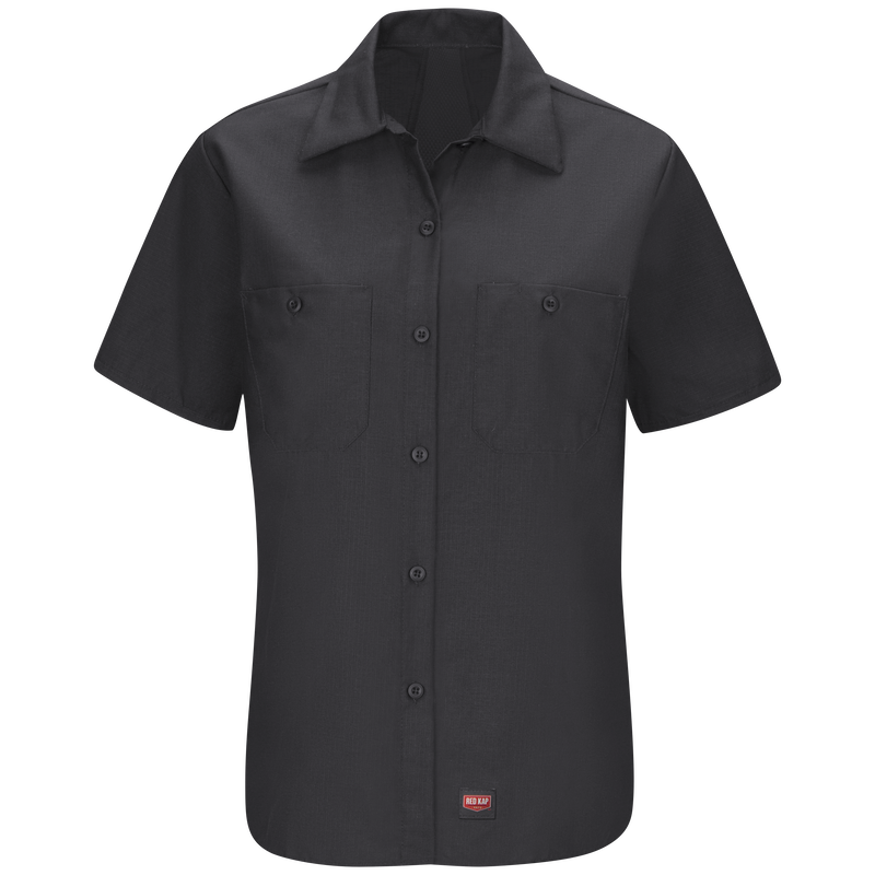 Women's Short Sleeve Work Shirt with MIMIX™