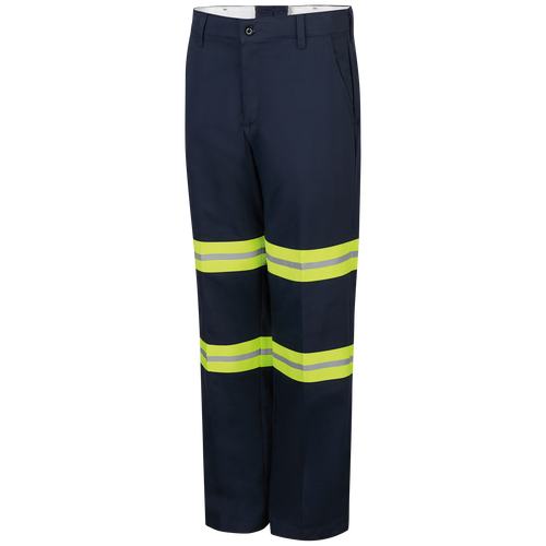 Men's Enhanced Visibility Wrinkle-Resistant Cotton Pant