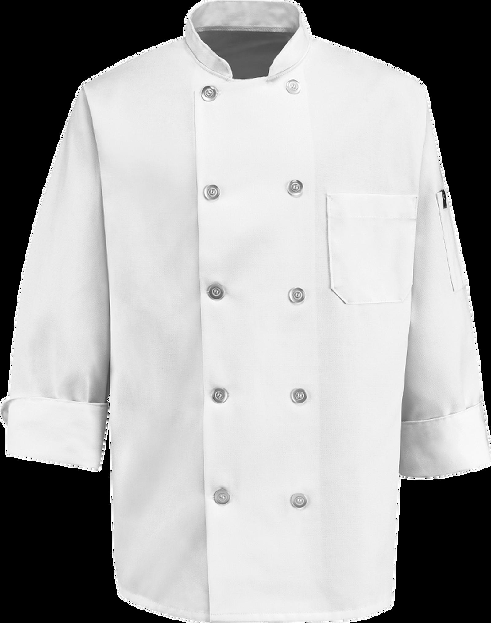 Chef Designs Ten Pearl Button Chef Coat