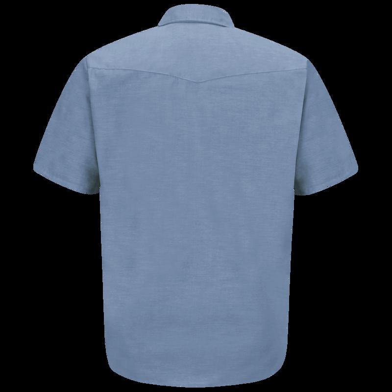 Men's Short Sleeve DeluxeWestern Style Shirt