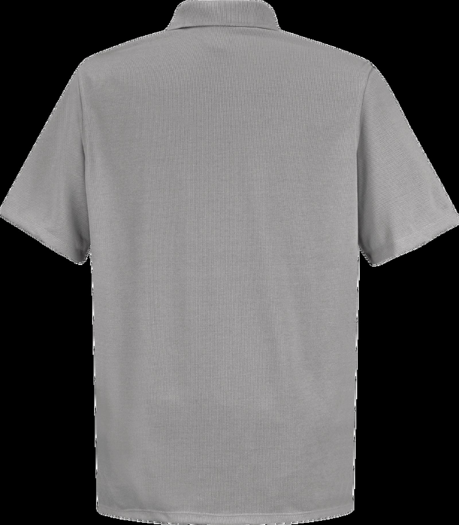 Men's Short Sleeve Spun Polyester Pocket Polo