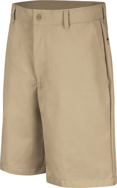 Men's Cotton Casual Plain Front Shorts