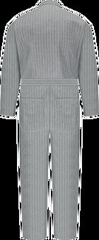 Men's Button-Front Cotton Coverall