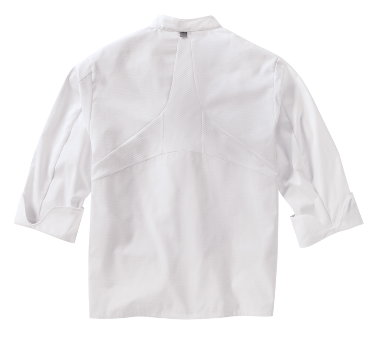 Men's Ten Knot Button Chef Coat with OilBlok + MIMIX™