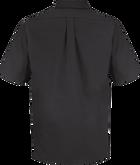Men's Short Sleeve Poplin Dress Shirt