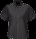 Women's Short Sleeve Poplin Dress Shirt