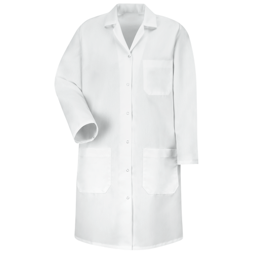 Women's Gripper-Front Lab Coat
