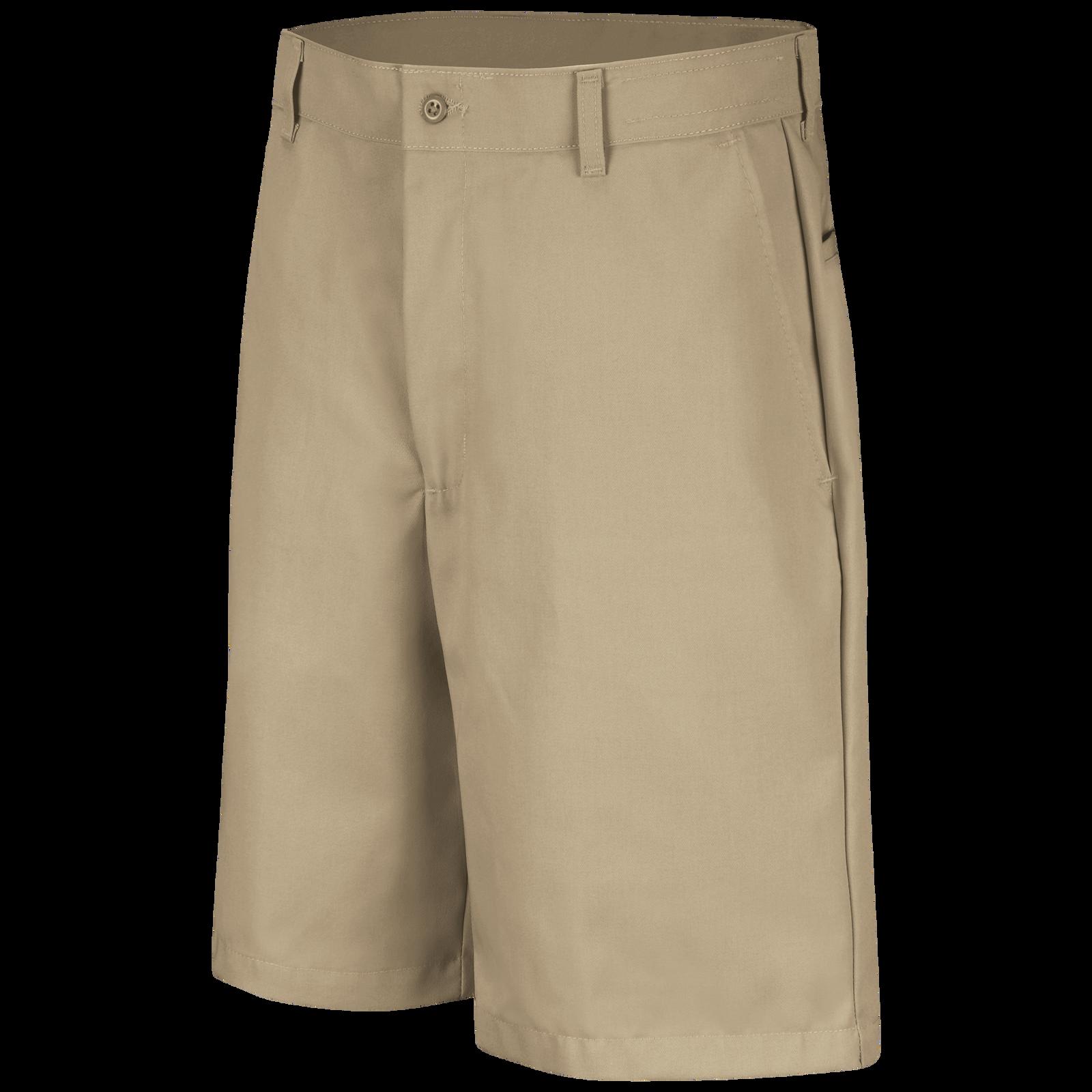 Red Kap Mens Plain Front Short