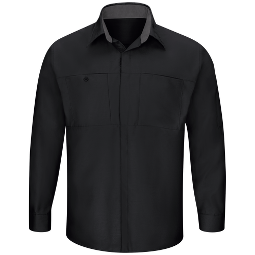 Men's Long Sleeve Performance Plus Shop Shirt with OilBlok Technology