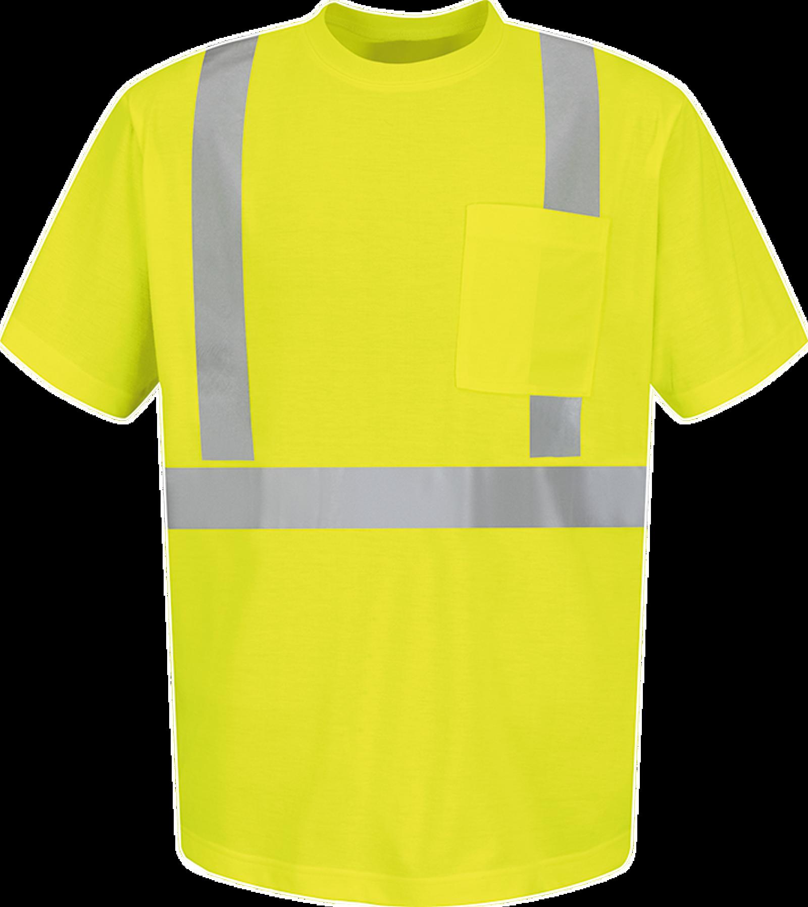 Hi-Visibility Short Sleeve T-Shirt - Type R, Class 2
