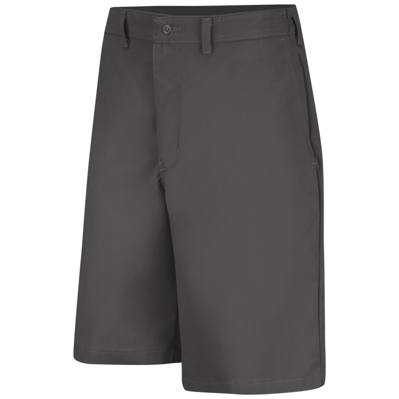 Men's Plain Front Side Elastic Shorts