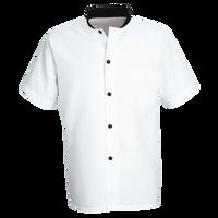 Chef Designs Black Trim Cook Shirt