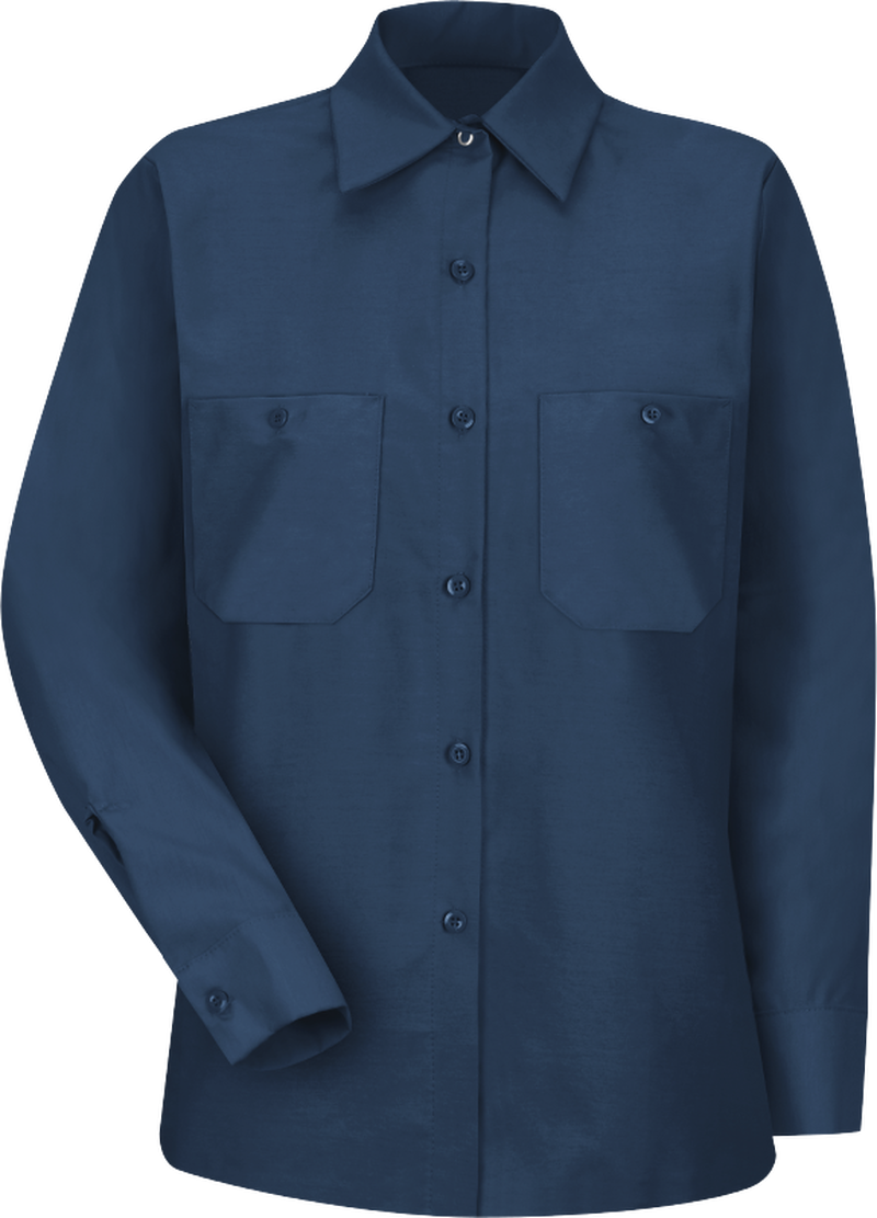 Women's Long Sleeve Industrial Work Shirt