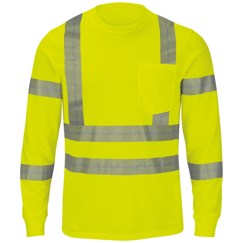 Long Sleeve Hi-Visibility T-Shirt