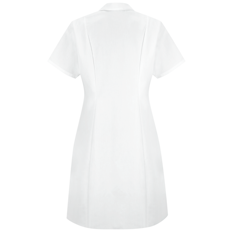 Women's Gripper-Front Short Sleeve Dress