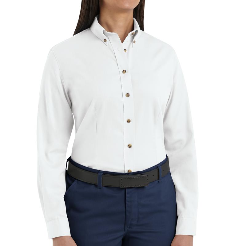 Women's Long Sleeve Meridian Performance Twill Shirt