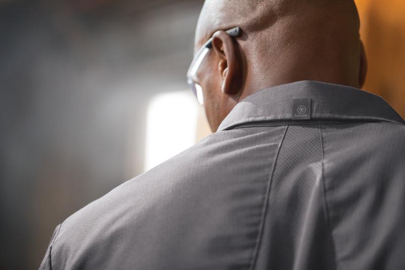 Men's Long Sleeve Work Shirt with MIMIX™