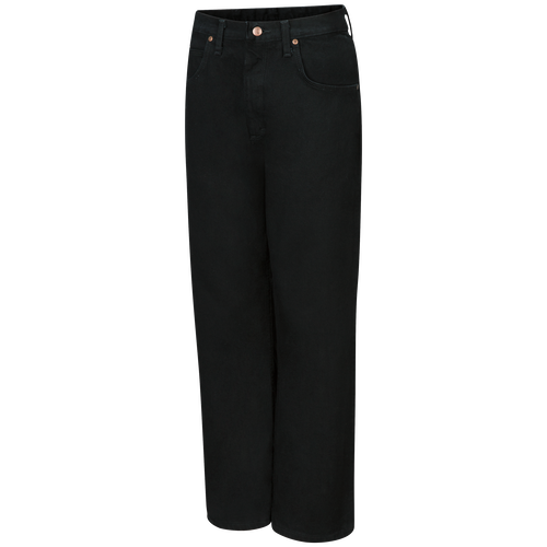 Men's Relaxed Fit Black Jean