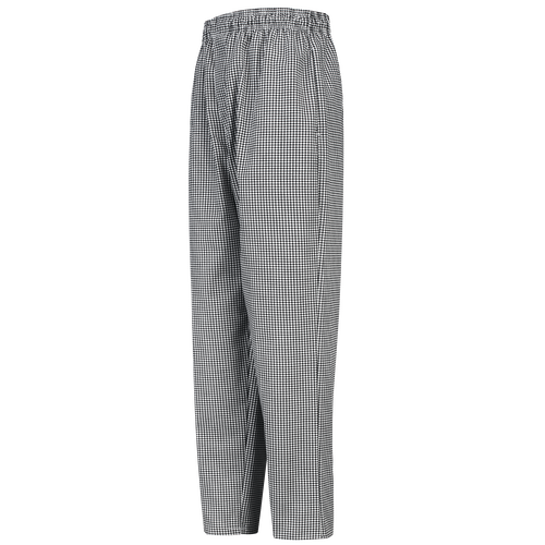 Men's Checked Baggy Chef Pant