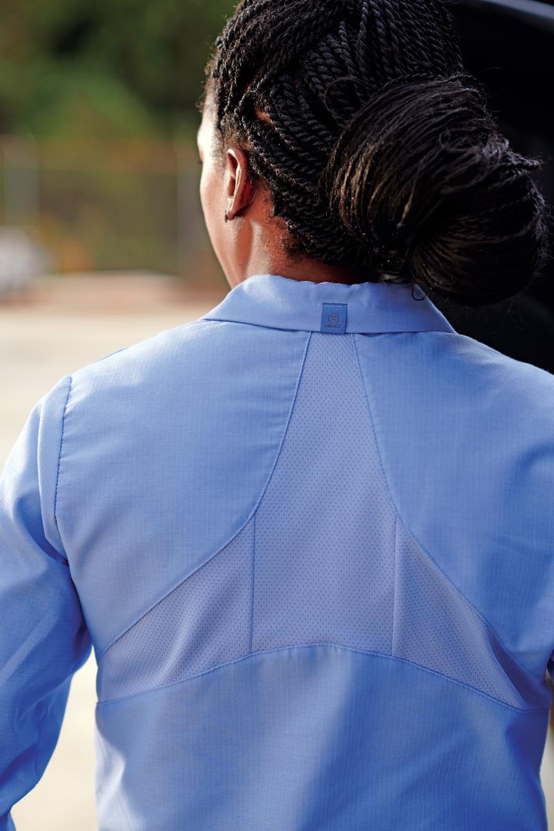 Women's Long Sleeve Work Shirt with MIMIX™